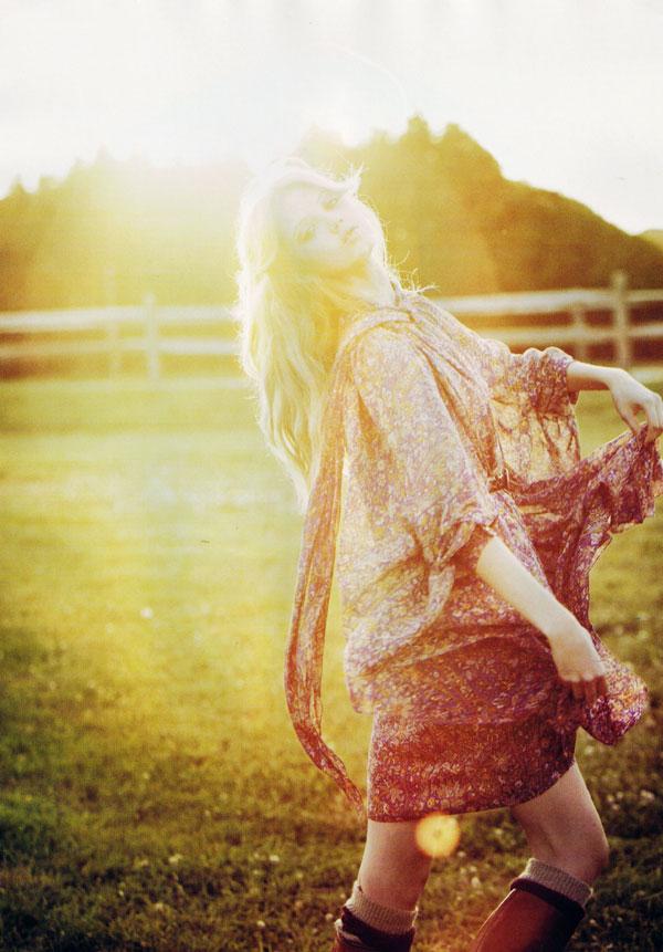 Wander Bird | Lindsey Wixson by Damon Heath for Lula