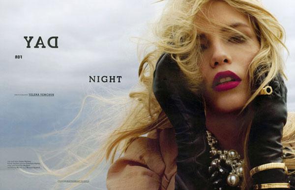 Day for Night | Natasha Poly by Yelena Yemchuk for Muse