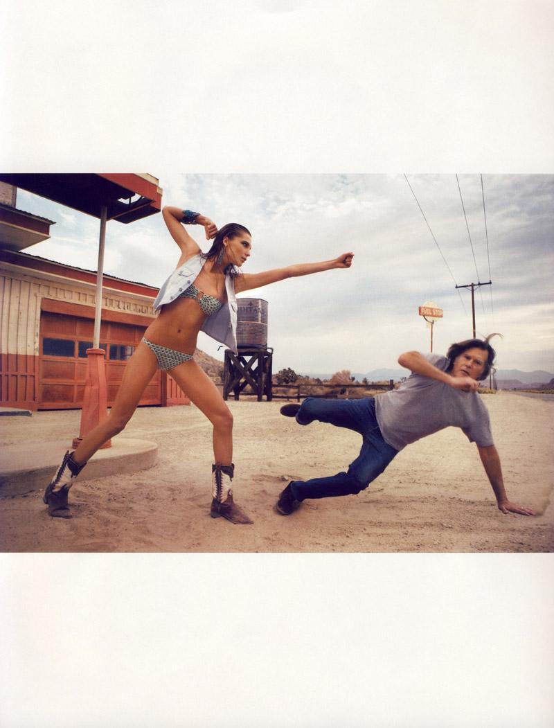 Daria Werbowy in 'Game Girl'