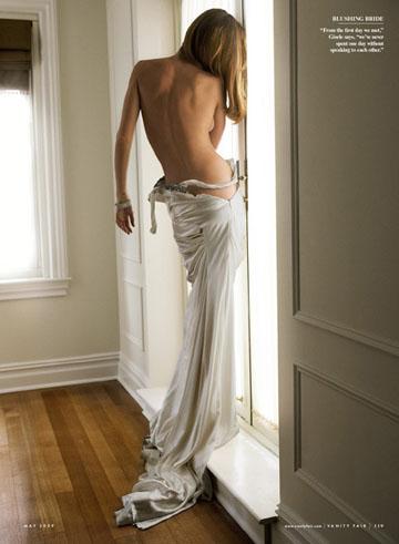 Gisele in Vanity Fair