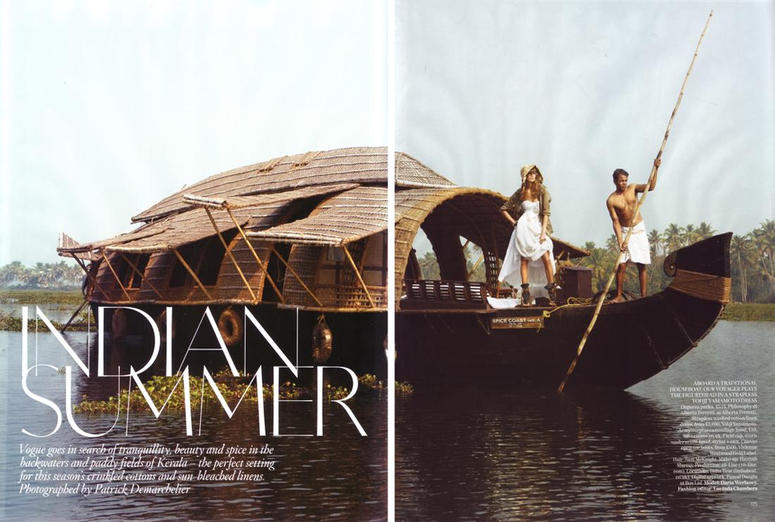 Daria Celebrates an 'Indian Summer'