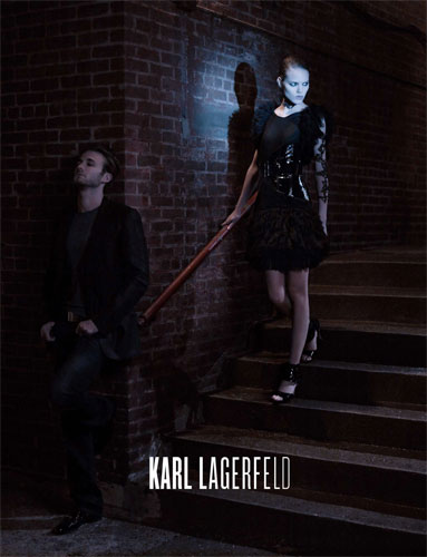 Freja for Karl Lagerfeld S/S 2009 Campaign
