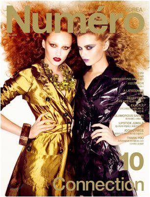 Cover Star | Vogue Russia & Numéro Korea