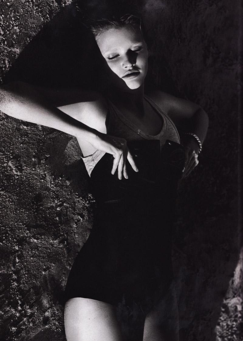 Lara Stone in Vogue UK
