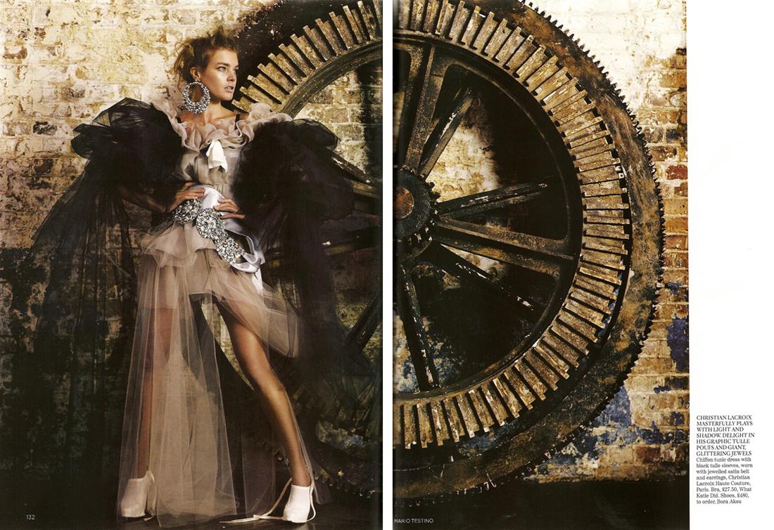 Natalia Vodianova in 'State of Grace'