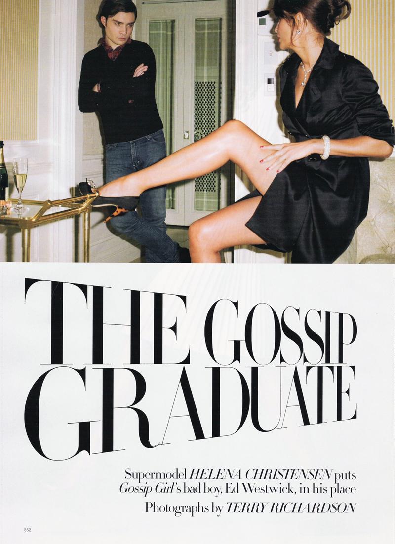 The Gossip Graduate