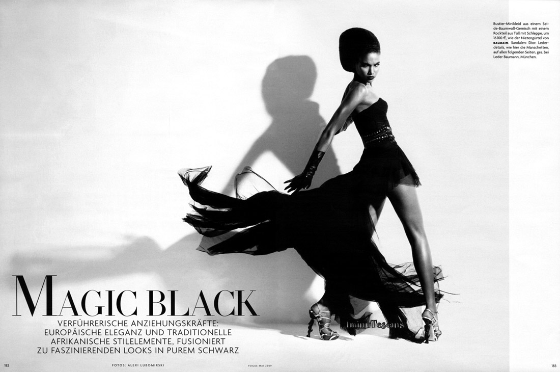 Arlenis Sosa in 'Magic Black'