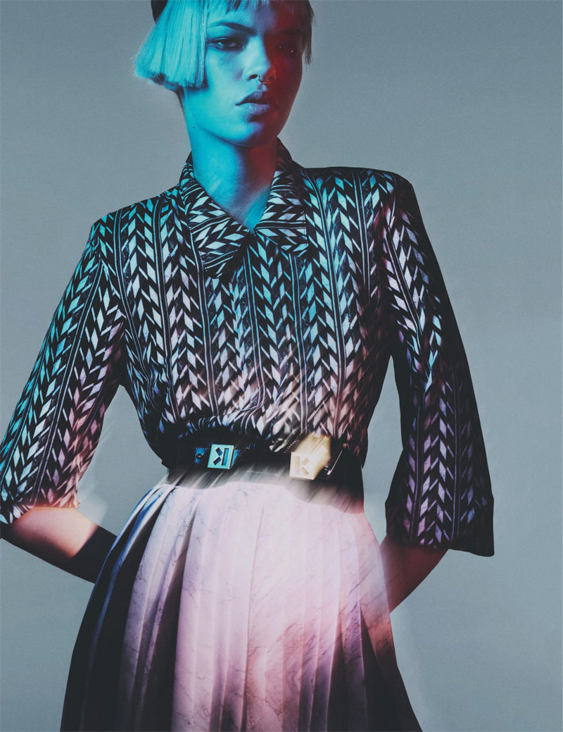 Kenzo Takes the Spotlight for the August Issue of Interview Russia by Benjamin Lennox