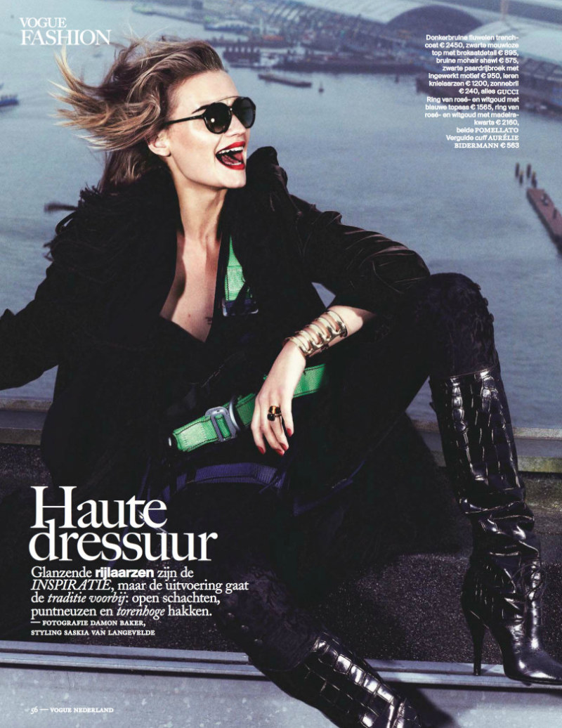 Damon Baker Captures Colorful Fall Style for Vogue Netherlands September 2012