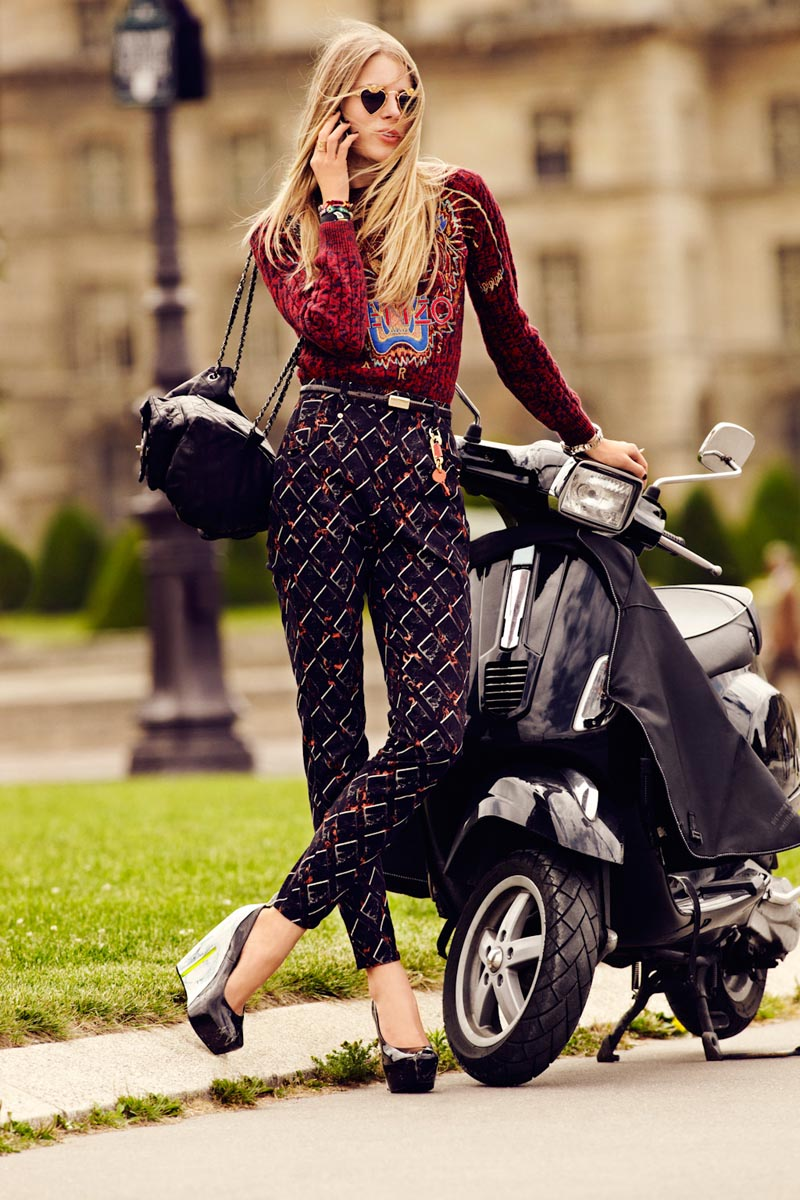 Ieva Laguna Dons Autumn Essentials for L'Officiel Paris