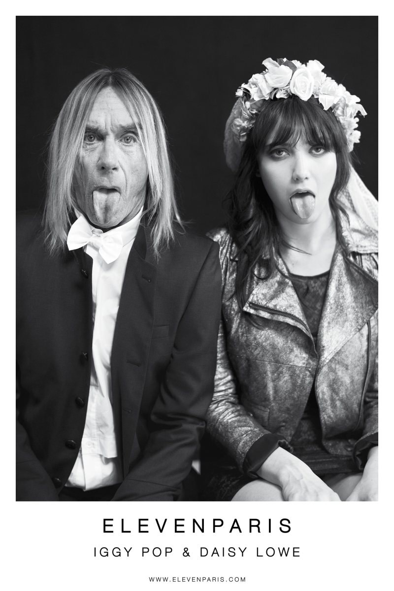 Daisy Lowe & Iggy Pop Star in Eleven Paris' Fall 2012 Campaign