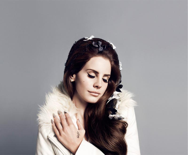 Lana del Rey Keeps it Sweet for H&M's Fall 2012 Campaign by Inez & Vinoodh