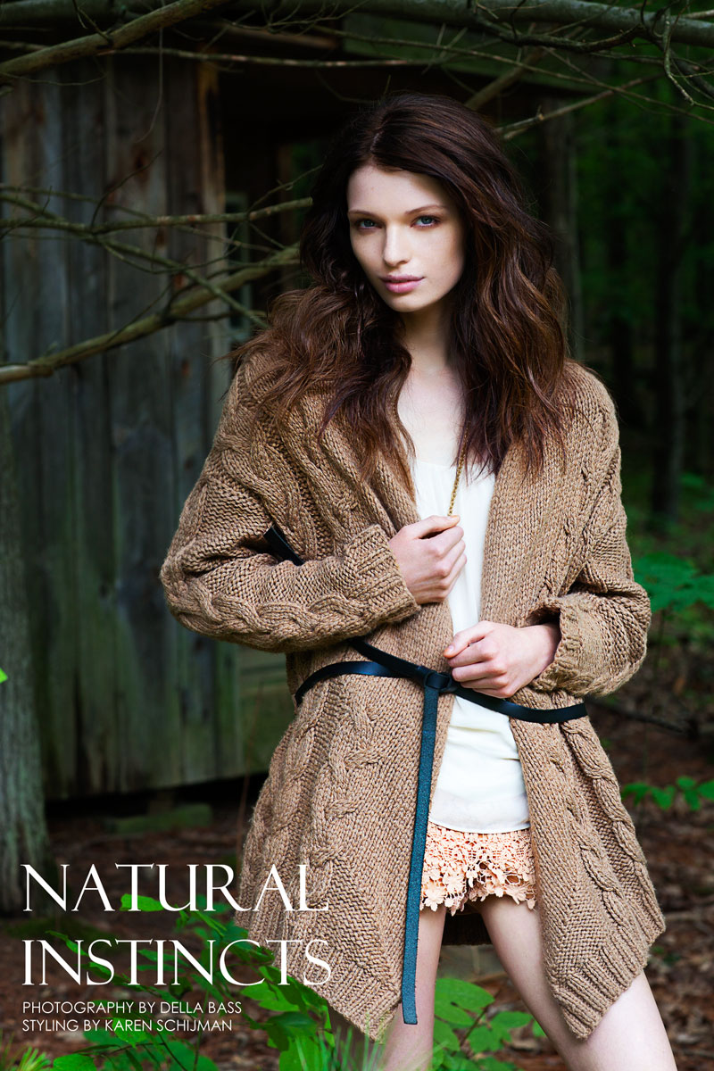 "Linnea Ahlman by Della Bass in ""Natural Instincts"" for Fashion Gone Rogue"