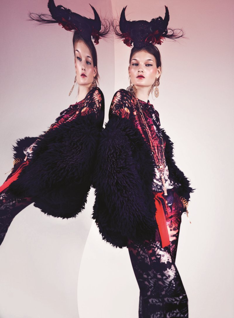 Kirsi Pyrhonen Gets Trippy for the NK Fall 2012 Campaign by Peter Gehrke