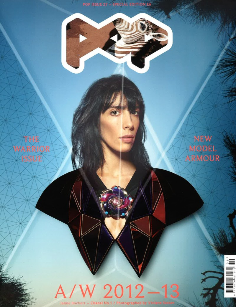 Jamie Bochert & Sui He Are a Head Above the Rest for Pop's F/W 2012 Covers