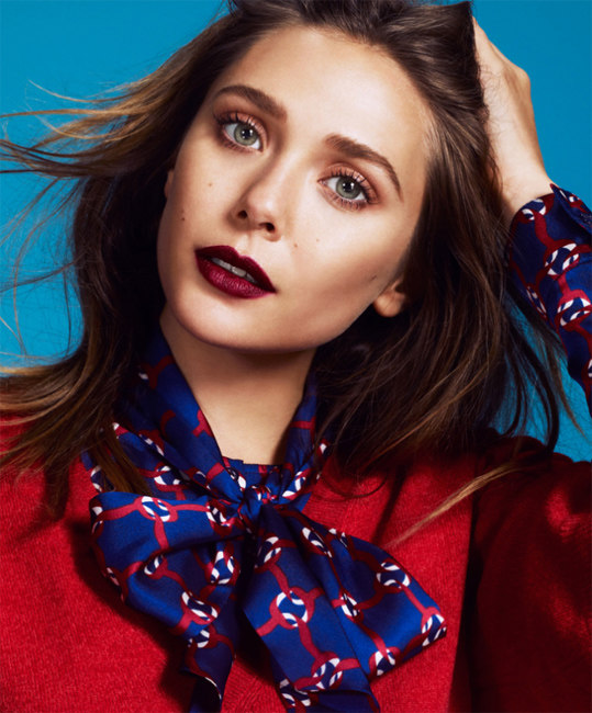 Elizabeth Olsen Shines for the Lens of Andrew Yee in The Guardian