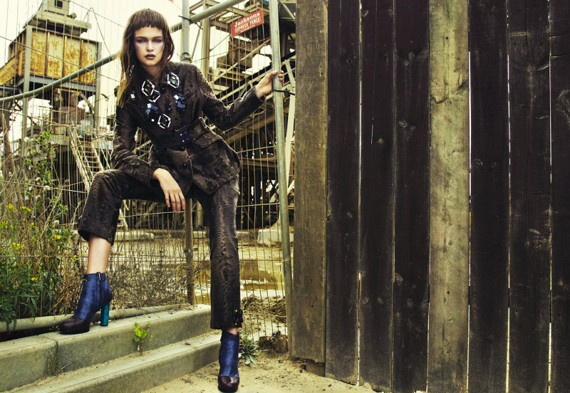 Nikolay Biryukov Lenses Industrial Style for SnC Magazine October 2012
