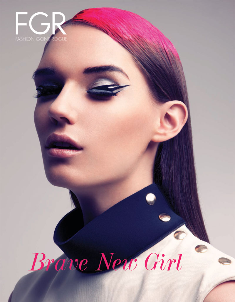 Nadya Trofimova by Jeff Tse for Fashion Gone Rogue (Cover)