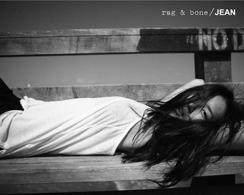 Liu Wen Stars in the Rag & Bone D.I.Y. Project Fall 2012 Campaign