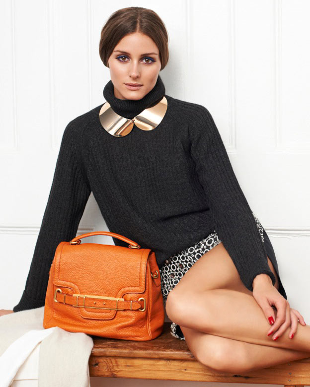 Olivia Palermo Sports Jill Stuart in Eric Guillemain's Vogue Girl Korea Shoot