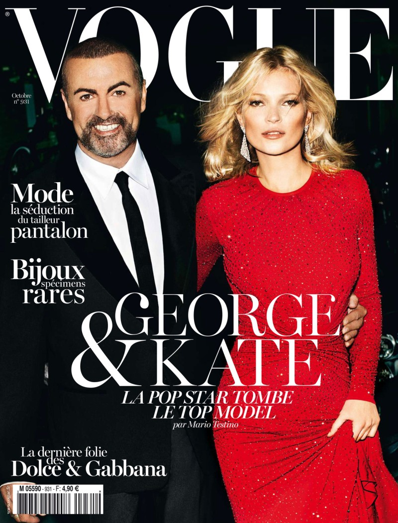 Kate Moss and George Michael Cover Vogue Paris' October 2012 Issue