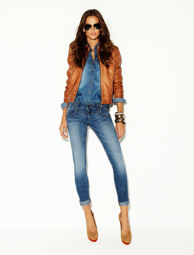 Izabel Goulart for Blanco Jeans 2012 Campaign by David Dunan