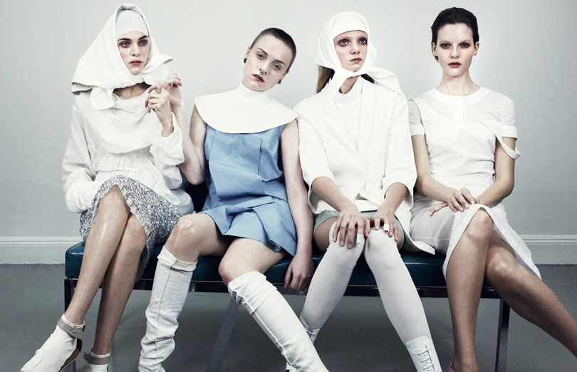 Sara Blomqvist, Hedvig Palm, Moa Hedström & Hanna Svensson by Marcus Ohlsson for Bon International