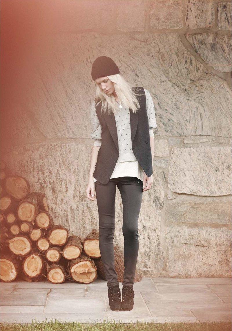 Aline Weber & Othilia Simon for Club Monaco Spring 2012 Lookbook