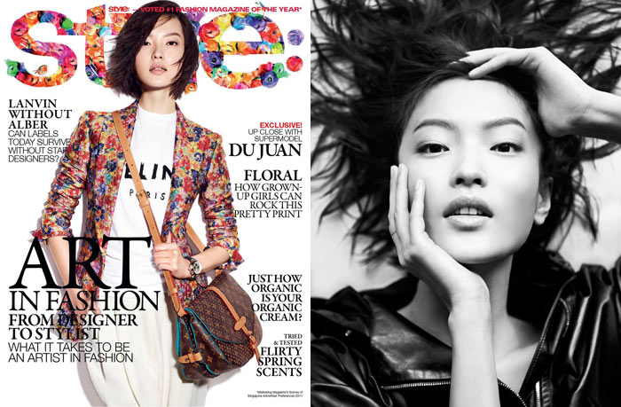 Du Juan by Wee Khim for Style Singapore January 2012