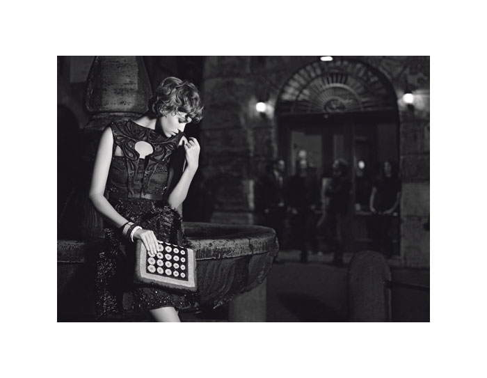 Arizona Muse for Fendi Spring 2012 Campaign by Karl Lagerfeld