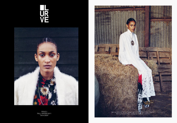 Jamie Summers by Fabien Kruszelnicki for Lurve #5