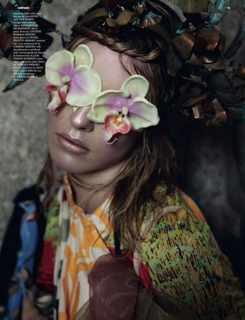 Julia Frauche by Yelena Yemchuk for Dazed & Confused