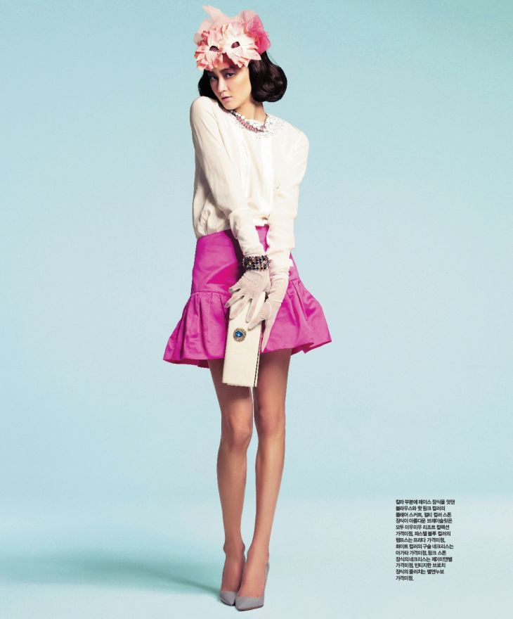 Hye Jung Lee by Ryoo-Hyungwon for Singles Korea