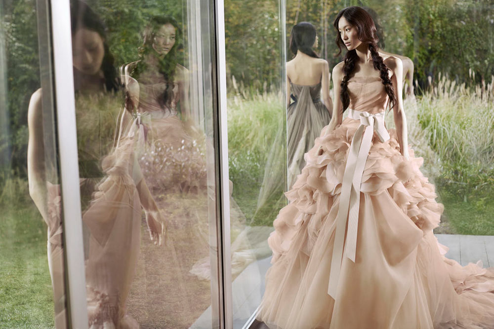 Shu Pei for Vera Wang Spring 2012 Campaign by Carter Smith