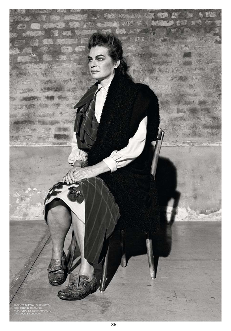 Cordula Reyer, Former Muse to Helmut Lang, Stars in The Room F/W 2012