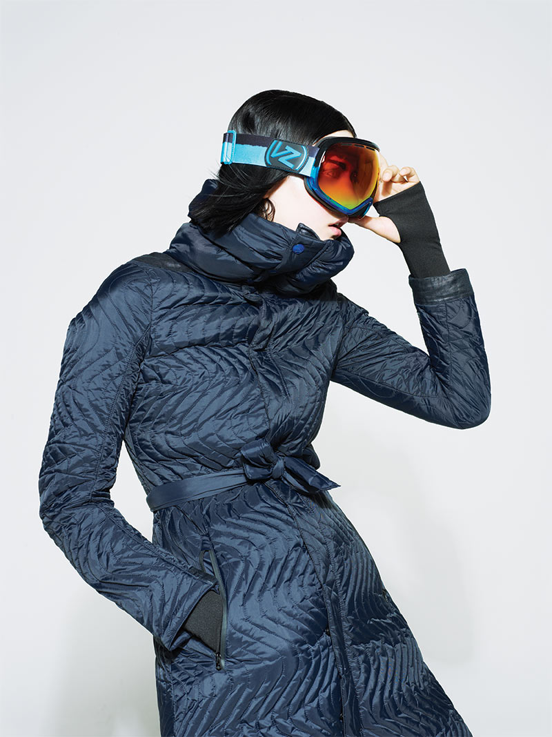 Margarita is Ready for the Slopes in Foam Magazine's December Issue