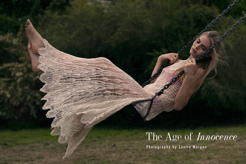 "Jordan Murray by Zanita Morgan in ""The Age of Innocence"" for Fashion Gone Rogue"
