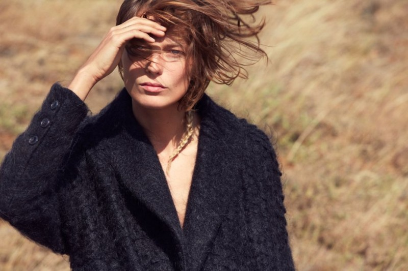 Daria Werbowy is All Natural in Maiyet's Fall 2012 Campaign by Cass Bird
