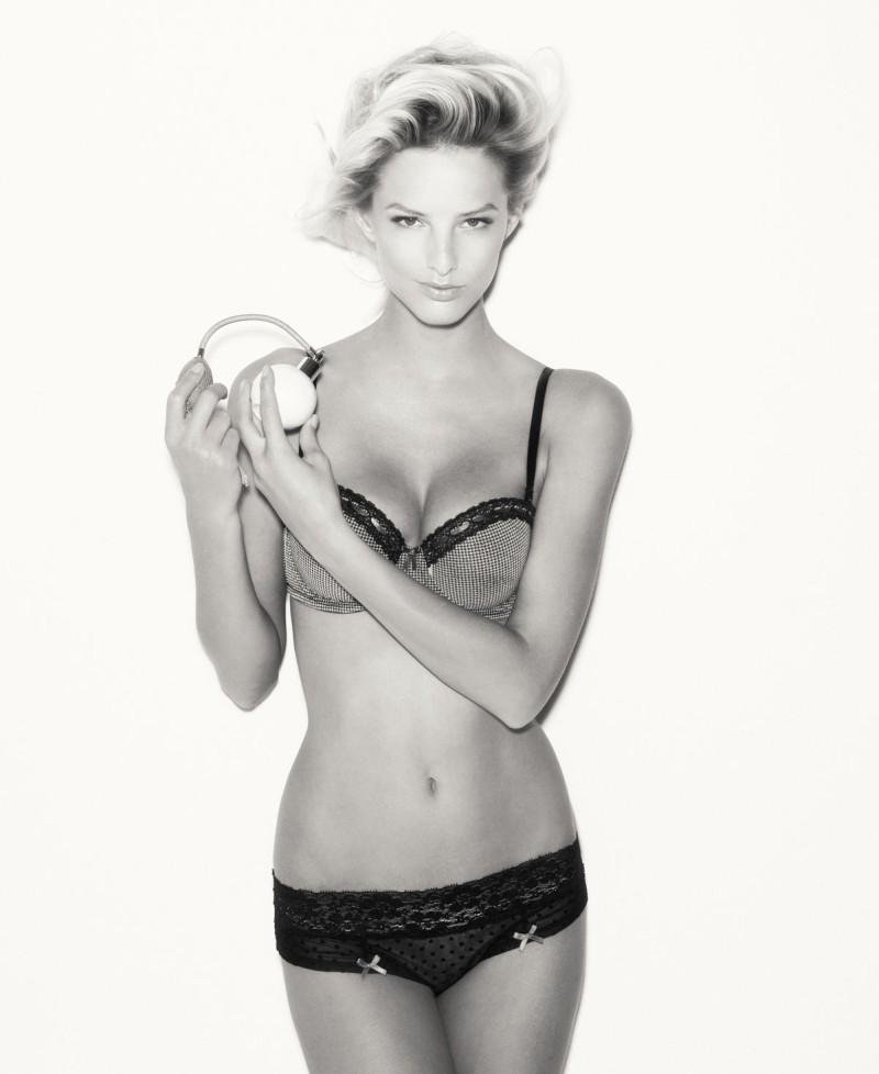 Michaela Kocianova Seduces in SuiteBlanco's Focus on Lingerie Campaign
