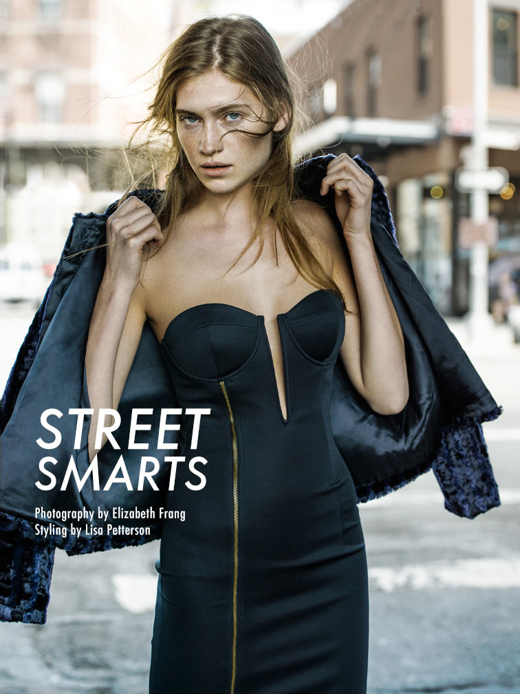 "Shane Seng by Elisabeth Frang in ""Street Smarts"" for Fashion Gone Rogue"