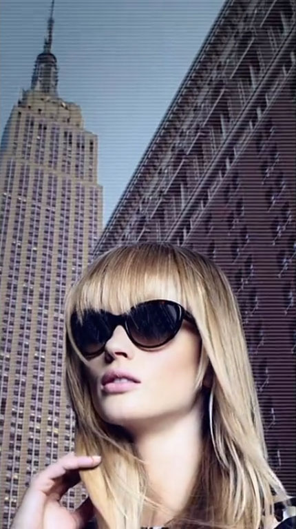 Film | Anne Vyalitsyna by Axel Lindahl for DKNY Spring 2012