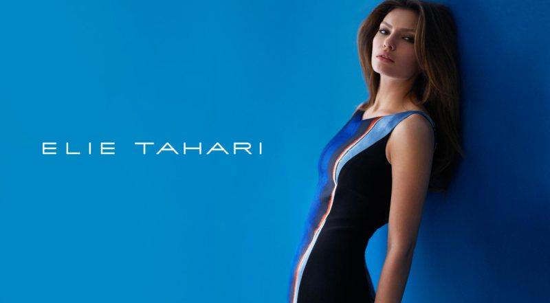 Alyssa Miller for Elie Tahari Spring 2012 Campaign by Diego Uchitel