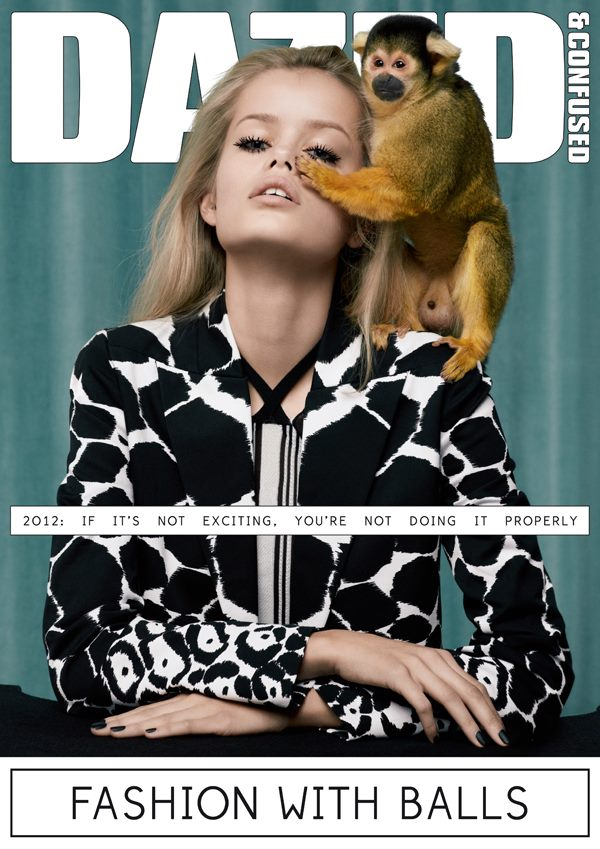 Dazed & Confused March 2012 Cover | Frida Aasen by Sean & Seng