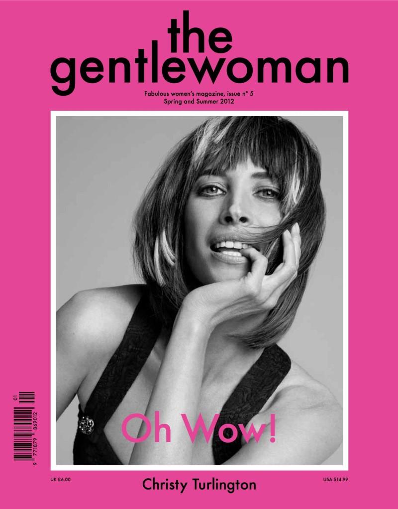 The Gentlewoman S/S 2012 Cover | Christy Turlington by Inez & Vinoodh