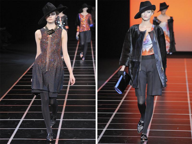 Giorgio Armani Fall 2012 | Milan Fashion Week
