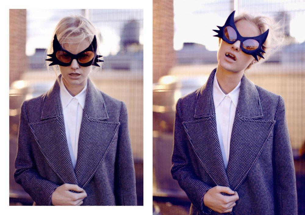 Hannah Holman for Ellery Fall 2012 Campaign by Kym Ellery