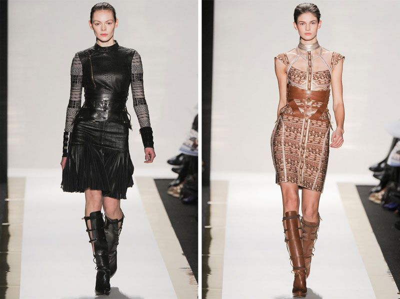 Herve Leger by Max Azria Fall 2012 | New York Fashion Week