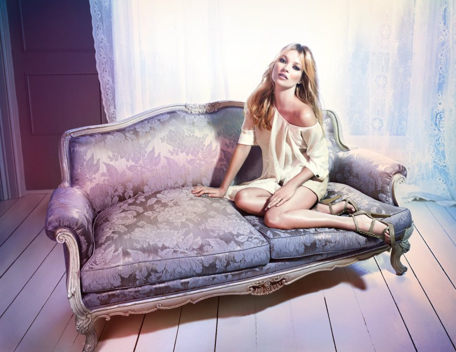 Kate Moss for Liu Jo Spring 2012 Campaign by Mario Sorrenti