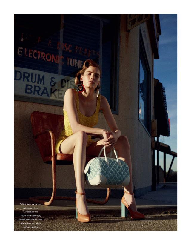 Marique Schimmel by Benny Horne for Bon International S/S 2012