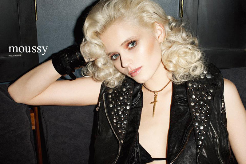 Abbey Lee Kershaw for Moussy Spring 2012 Campaign by Terry Richardson